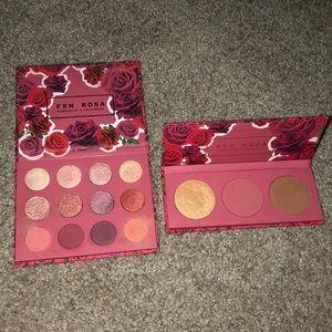 Colourpop Fem Rosa eyeshadow and face palette